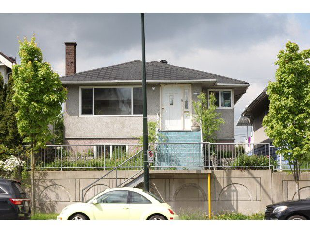 Main Photo: 2355 CLARK DR in Vancouver: Mount Pleasant VE House for sale (Vancouver East)  : MLS®# V1062180