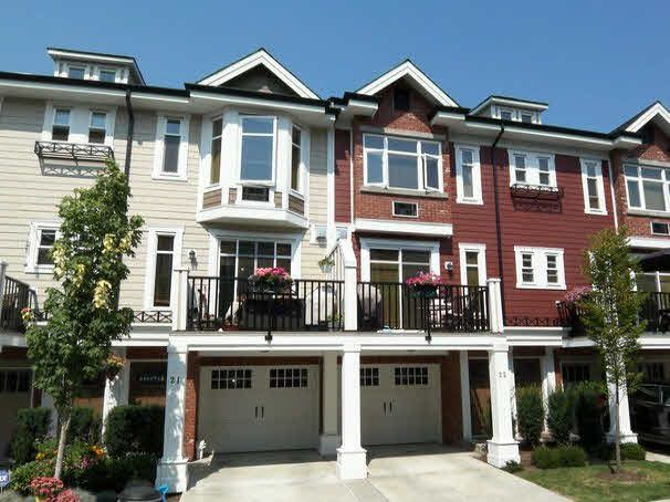 "Main Photo: 22 20738 84TH Avenue in Langley: Willoughby Heights Townhouse for sale in ""Yorkson Creek"" : MLS®# F1419827"