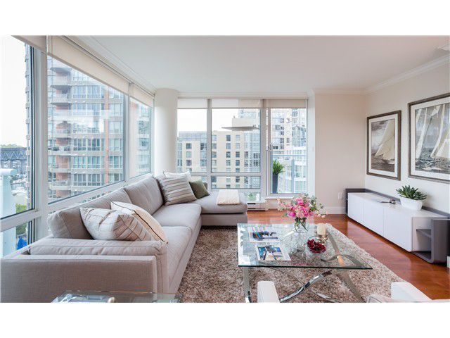Main Photo: 1005 1500 HORNBY Street in Vancouver: Yaletown Condo  (Vancouver West)  : MLS®# V1129040