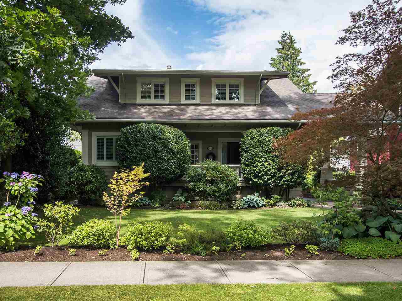 Main Photo: 1355 DEVONSHIRE CRESCENT in Vancouver: Shaughnessy House for sale (Vancouver West)  : MLS®# R2090147