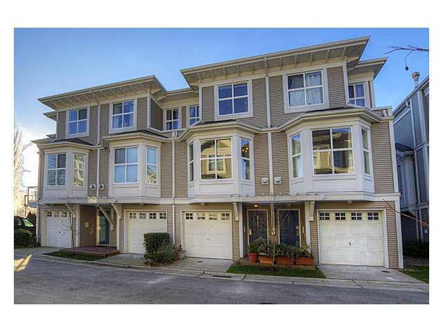 Main Photo: 8583 AQUITANIA PLACE in : Fraserview VE Townhouse for sale : MLS®# V985521