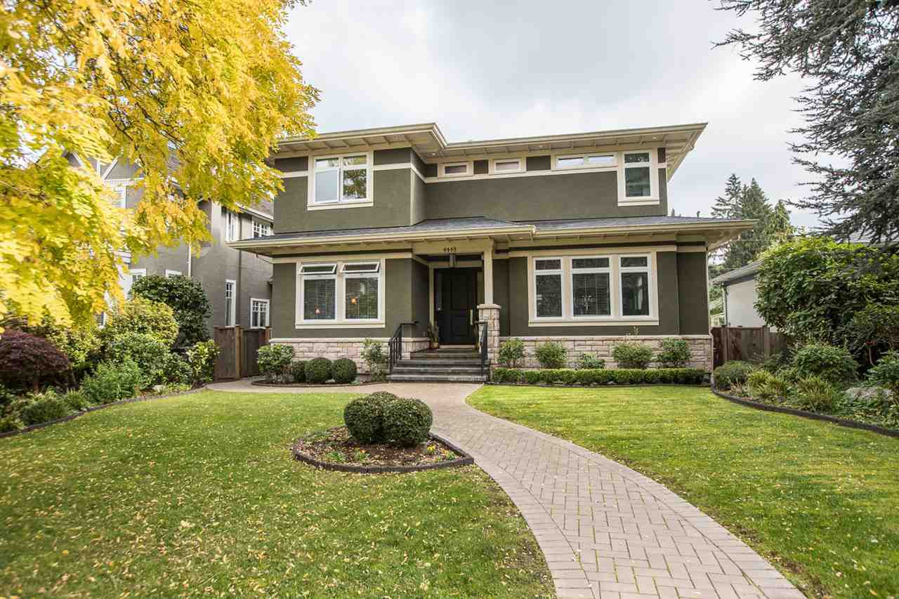 Main Photo: 4448 CHALDECOTT STREET in Vancouver: Dunbar House for sale (Vancouver West)  : MLS®# R2346982