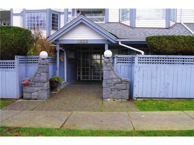 """Main Photo: 102 8633 S.W MARINE Drive in Vancouver: Marpole Condo for sale in """"SOUTH BEND"""" (Vancouver West)  : MLS®# V989221"""