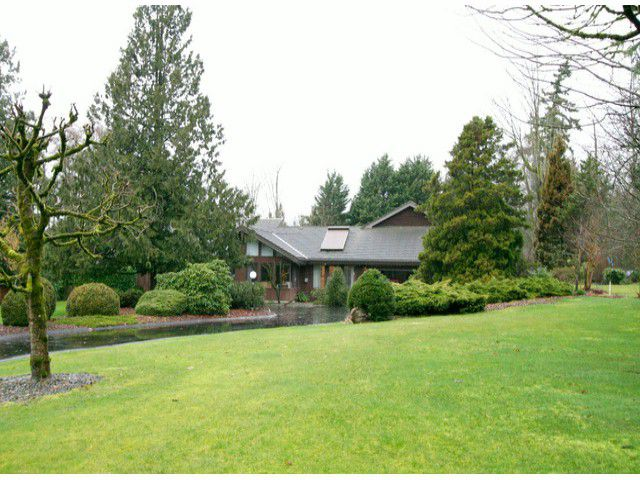 Main Photo: 9311 178TH Street in Surrey: Port Kells House for sale (North Surrey)  : MLS®# F1304086