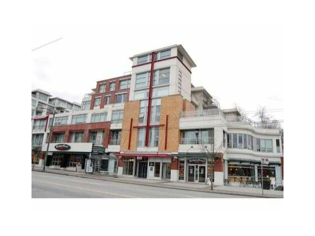 Main Photo: # 422 2288 W BROADWAY BB in Vancouver: Kitsilano Condo for sale (Vancouver West)  : MLS®# V1138027