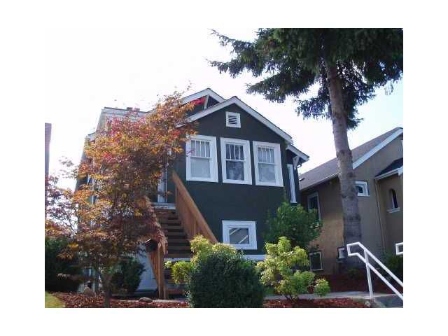 Main Photo: 434 W 19TH AV in Vancouver: Cambie House for sale (Vancouver West)  : MLS®# V1049509