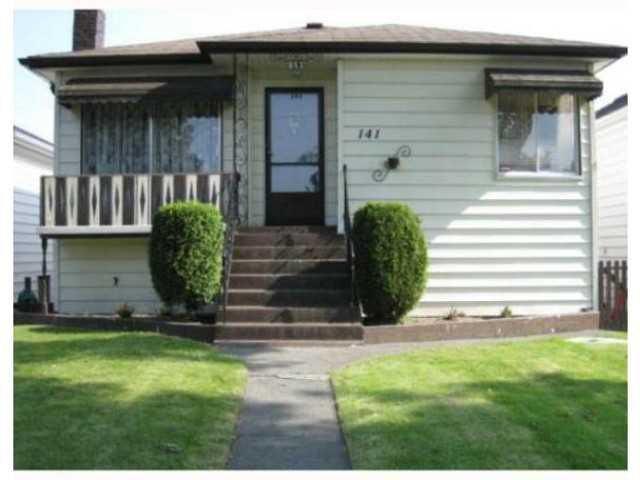Main Photo: 141 E 45TH AV in Vancouver: Main House for sale (Vancouver East)  : MLS®# V1137187