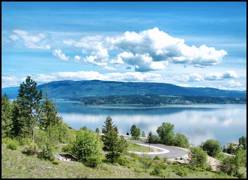 Main Photo: Lot 1 #4 Southwest Kault Hill Road in Salmon Arm: Kault Hill Vacant Land for sale : MLS®# 10127527