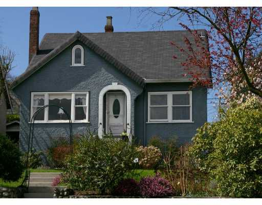 Main Photo: 4757 BLENHEIM ST in Vancouver: Dunbar House for sale (Vancouver West)  : MLS®# V584316