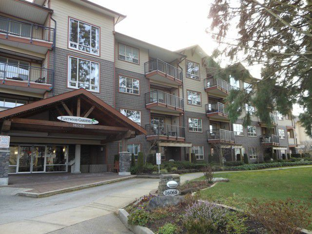 "Main Photo: 102 16068 83RD Avenue in Surrey: Fleetwood Tynehead Condo for sale in ""Fleetwood Gardens"" : MLS®# F1305233"