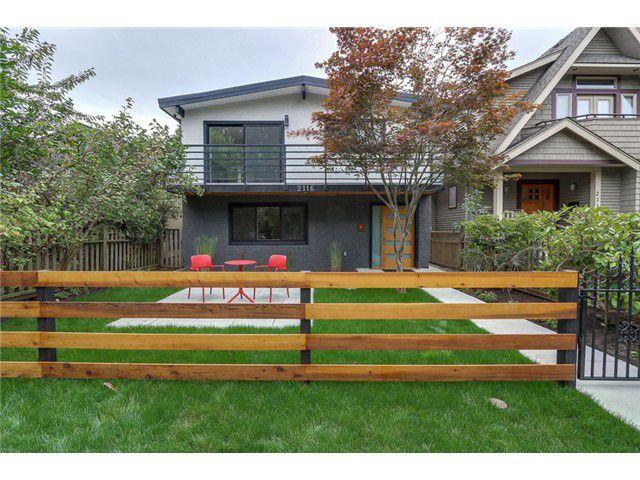 Main Photo: 2116 E 19TH AV in Vancouver: Grandview VE House for sale (Vancouver East)  : MLS®# V1088233