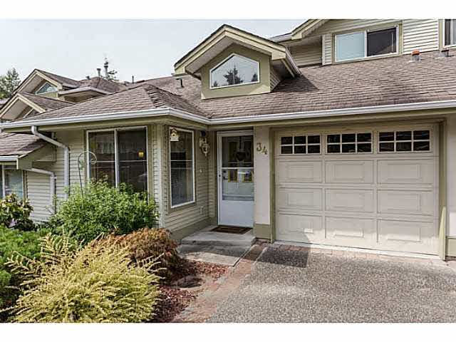 Main Photo: 34 22740 116TH AVENUE in Maple Ridge: East Central Townhouse for sale : MLS®# V1141647
