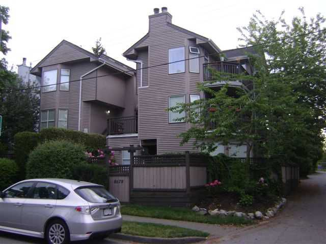 Main Photo: 8678 SW MARINE Drive in Vancouver: Marpole Townhouse for sale (Vancouver West)  : MLS®# V953197