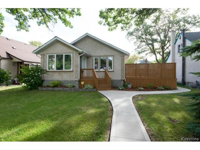 Main Photo: 343 Winchester Street in WINNIPEG: St James Residential for sale (West Winnipeg)  : MLS®# 1319621