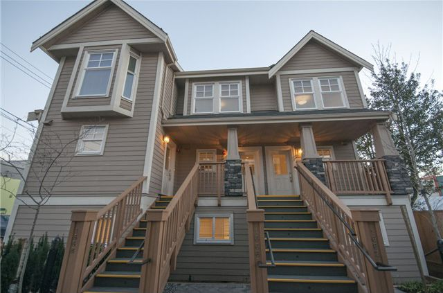 Main Photo: 1662 E 5TH Avenue in Vancouver: Grandview VE Townhouse for sale (Vancouver East)  : MLS®# V1043486