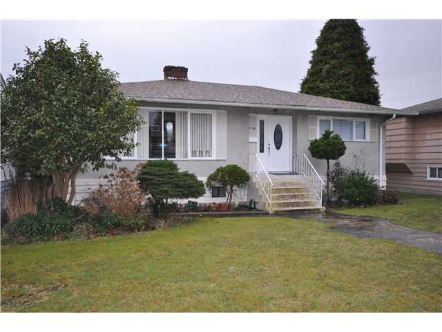 Main Photo: 3766 IRMIN Street in Burnaby: Suncrest House for sale (Burnaby South)  : MLS®# V936119
