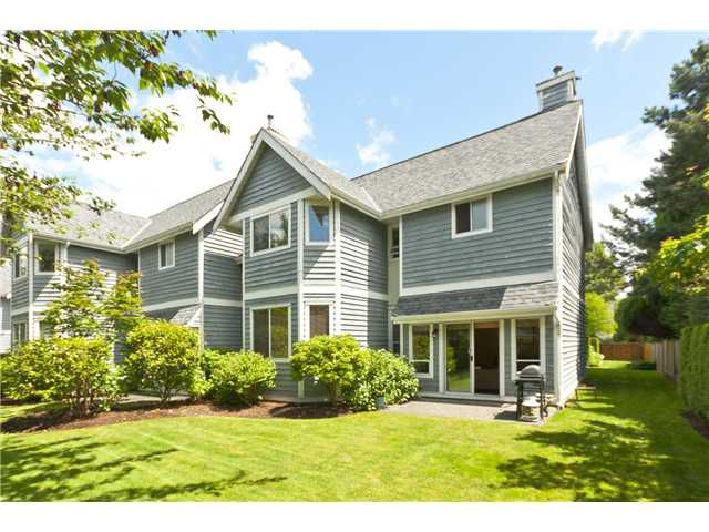 """Main Photo: 2 1135 LANSDOWNE Drive in Coquitlam: Eagle Ridge CQ Townhouse for sale in """"CREEKSIDE ESTATES"""" : MLS®# V960300"""