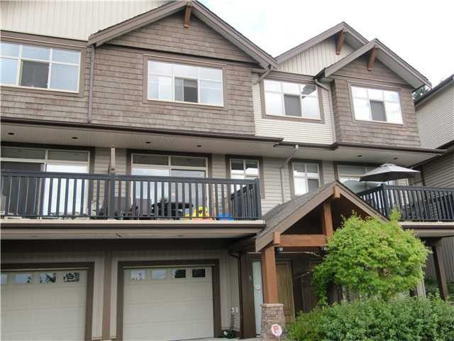 """Main Photo: # 5 320 DECAIRE ST in Coquitlam: Central Coquitlam Townhouse for sale in """"THE OUTLOOK"""" : MLS®# V991786"""