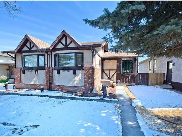 Main Photo: 27 TEMPLEBOW Way NE in CALGARY: Temple Residential Detached Single Family for sale (Calgary)  : MLS®# C3562261