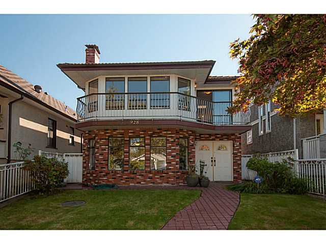 Main Photo: 928 W 20TH AV in Vancouver: Cambie House for sale (Vancouver West)  : MLS®# V1085006