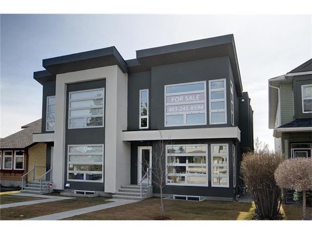 Main Photo: 605A 25 AV NE in Calgary: Winston Heights/Mountview House for sale : MLS®# C4057059