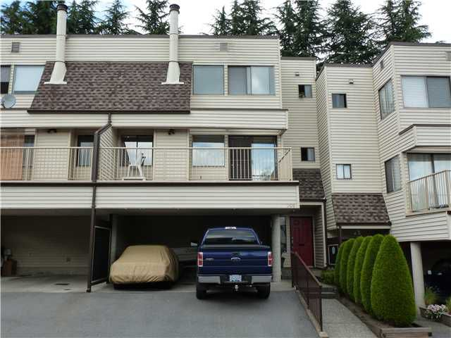 "Main Photo: 205 1220 FALCON Drive in Coquitlam: Upper Eagle Ridge Townhouse for sale in ""EAGLERIDGE TERRACE"" : MLS®# V1013585"