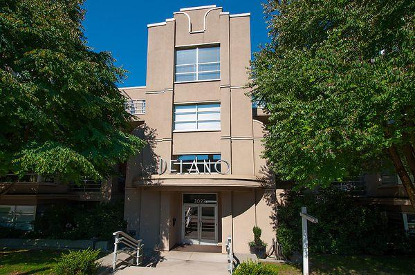 """Main Photo: # 102 3023 W 4TH AV in Vancouver: Kitsilano Condo for sale in """"DELANO"""" (Vancouver West)  : MLS®# V1028282"""