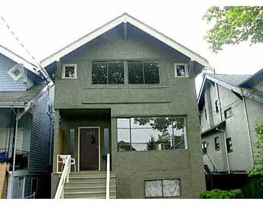 Main Photo: 2536 MACKENZIE ST in : Kitsilano House for sale : MLS®# V398992
