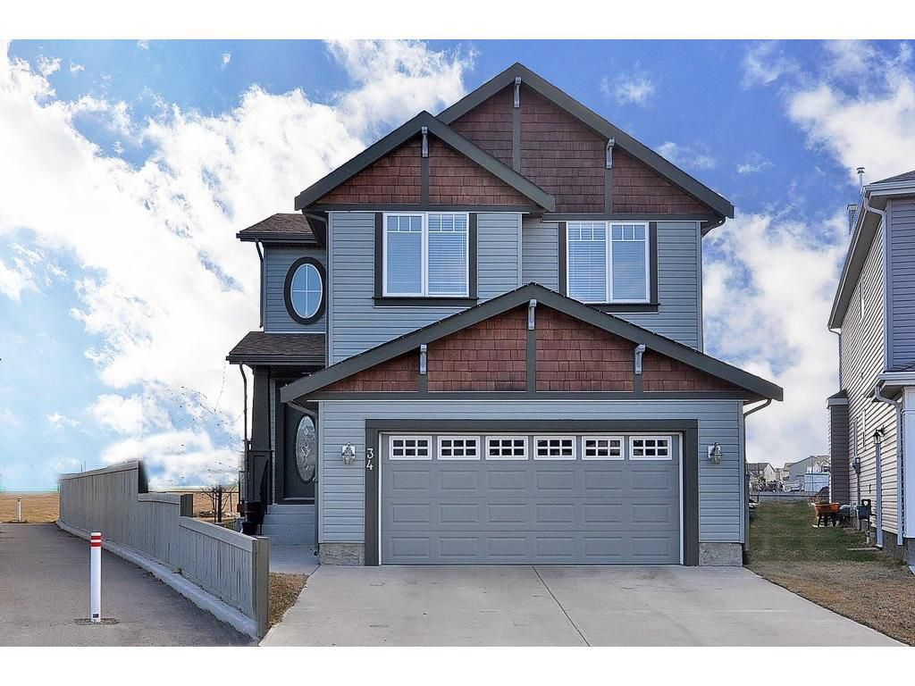 Main Photo: 34 Copperstone Crescent SE in Calgary: Detached for sale : MLS®# C4056532