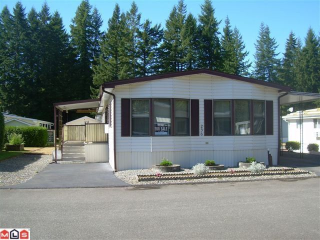"Main Photo: 236 20071 24TH Avenue in Langley: Brookswood Langley Manufactured Home for sale in ""FERNRIDGE"" : MLS®# F1223129"