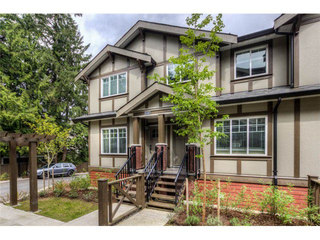 Main Photo: 105 3333 Dewdney Trunk Road in Port Moody: Port Moody Centre Townhouse for sale : MLS®# v1037028