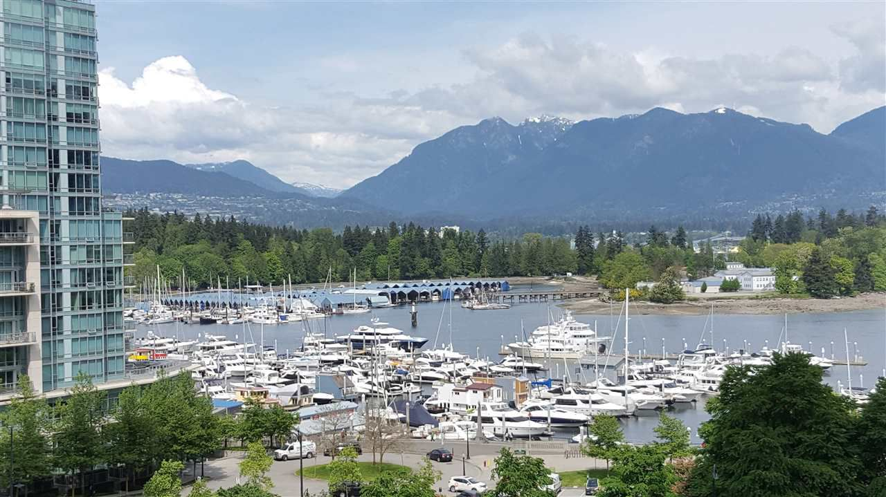 Main Photo: 806 1328 W PENDER STREET in Vancouver: Coal Harbour Condo for sale (Vancouver West)  : MLS®# R2064247