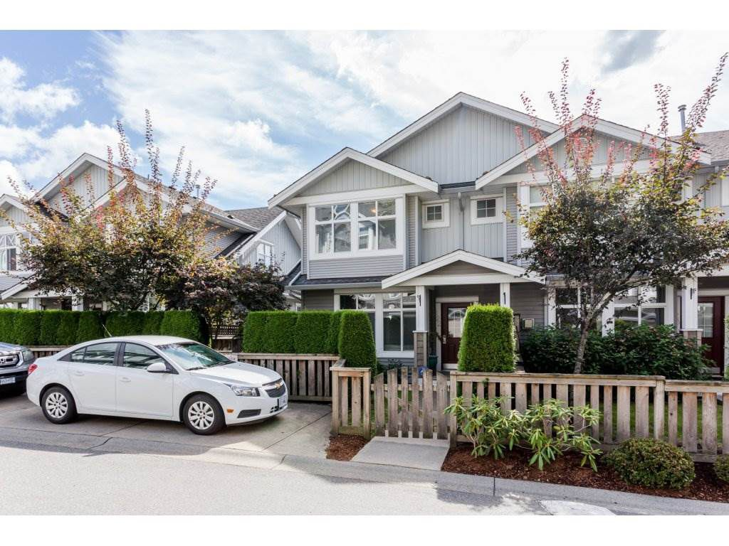 Main Photo: 122 20449 66 AVENUE in Langley: Willoughby Heights Townhouse for sale : MLS®# R2106319