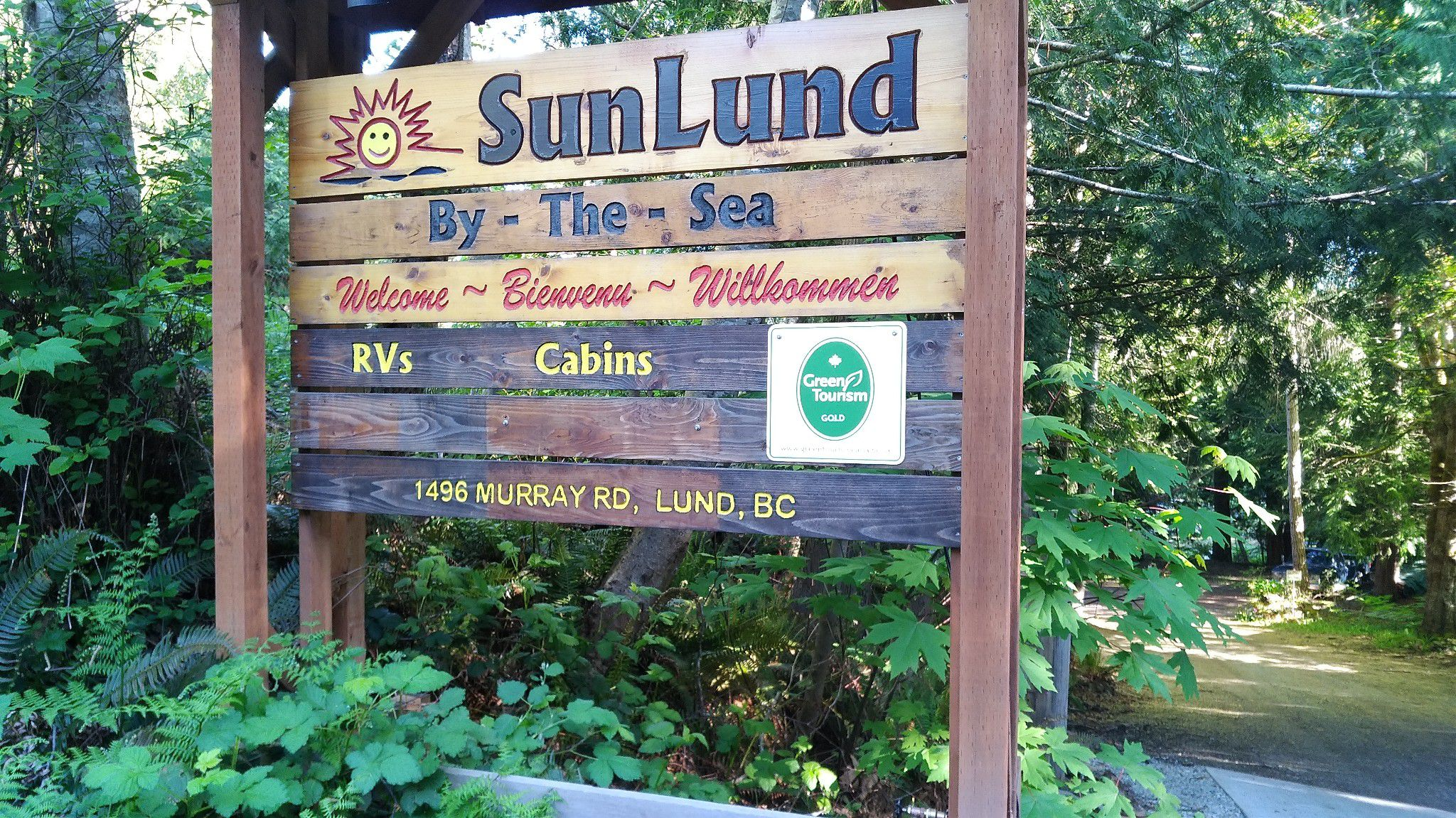 Sunlund RV Resort Lund Harbour, BC