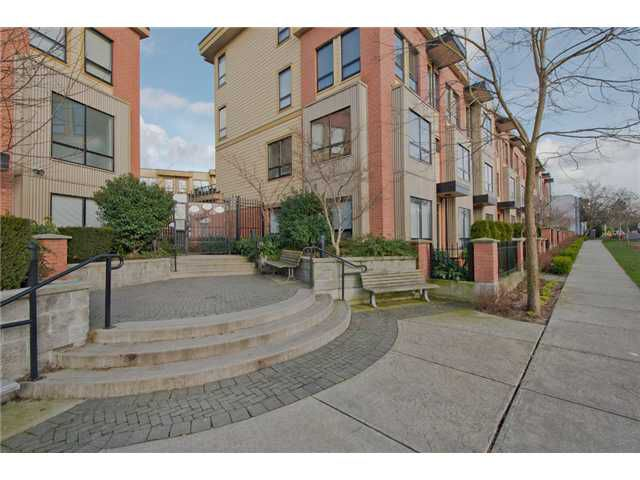"Main Photo: # 111 1859 STAINSBURY AV in Vancouver: Victoria VE Townhouse for sale in ""THE WORKS @ COMMERCIAL DRIVE"" (Vancouver East)  : MLS®# V990746"