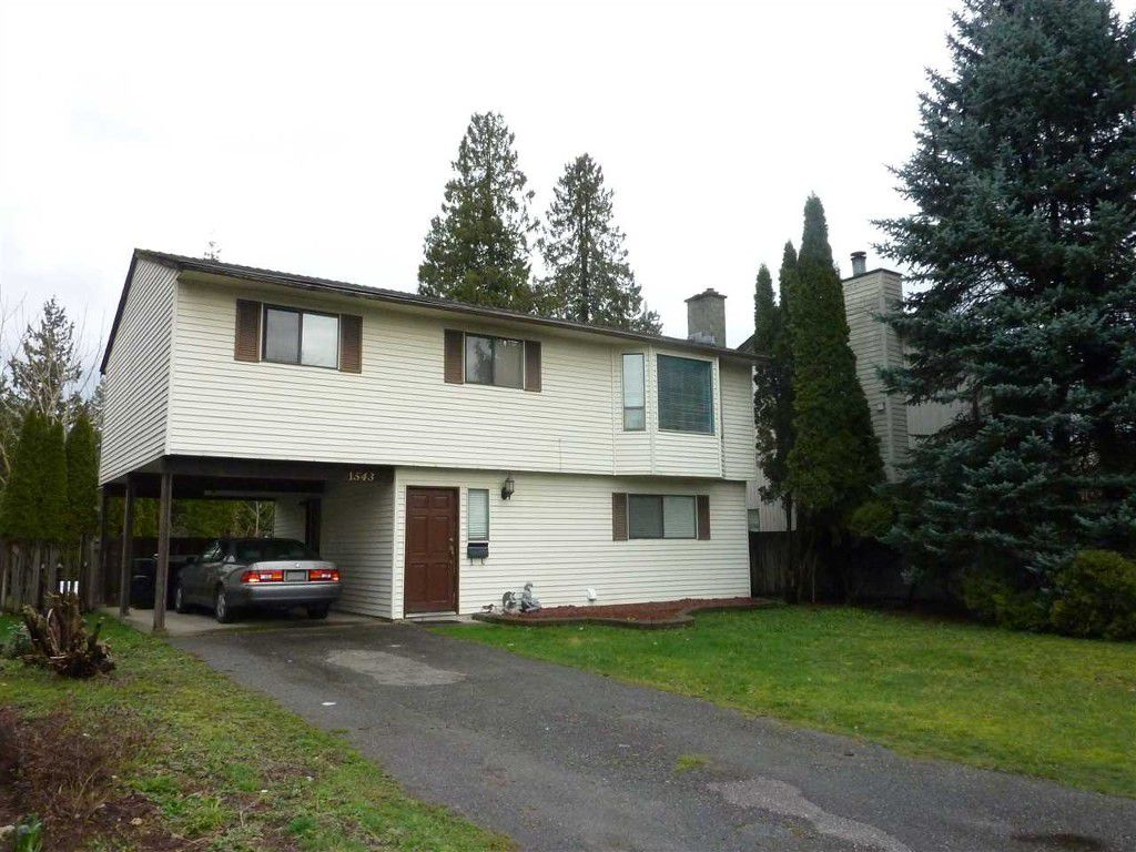 Main Photo: 1543 Bridgman Avenue in Port Coquitlam: Glenwood PQ House for sale : MLS®# R2041653