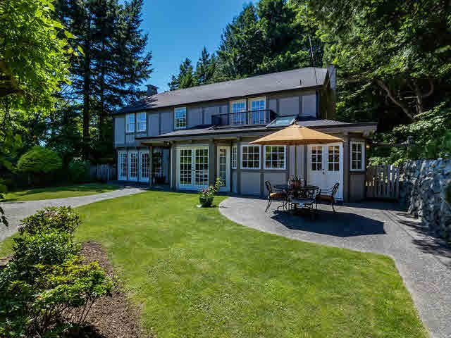 Main Photo: 4786 Estevan Place in West Vancouver: Caulfeild House for sale : MLS®# V1127609