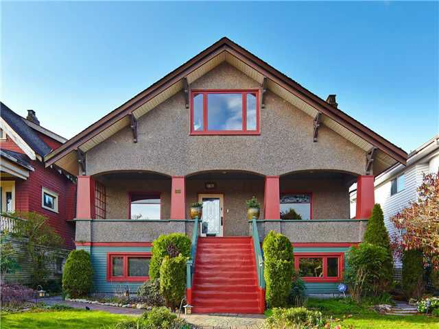 Main Photo: 2616 TRINITY ST in Vancouver: Hastings East House for sale (Vancouver East)  : MLS®# V1108073