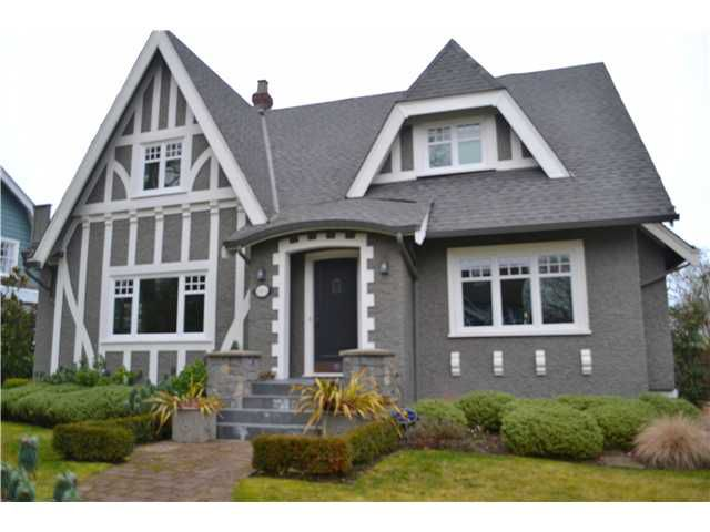 Main Photo: 1455 DEVONSHIRE CR in Vancouver: Shaughnessy House for sale (Vancouver West)  : MLS®# V1044258