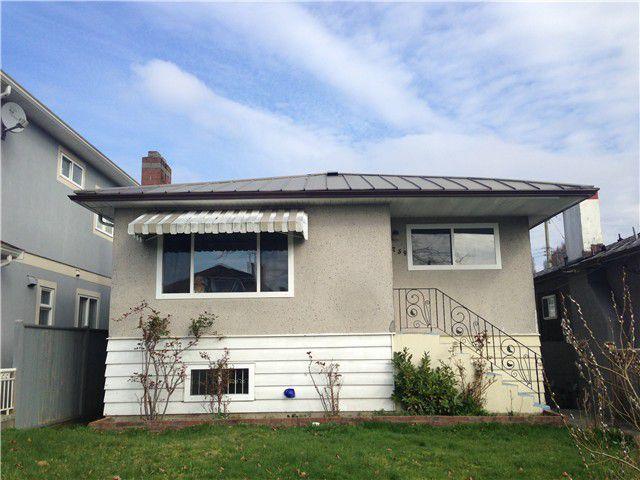 Main Photo: 2759 DUKE ST in Vancouver: Collingwood VE House for sale (Vancouver East)  : MLS®# V1107505