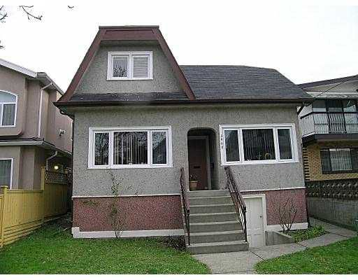 Main Photo: 3968 BEATRICE ST in Vancouver: Victoria VE House for sale (Vancouver East)  : MLS®# V573734