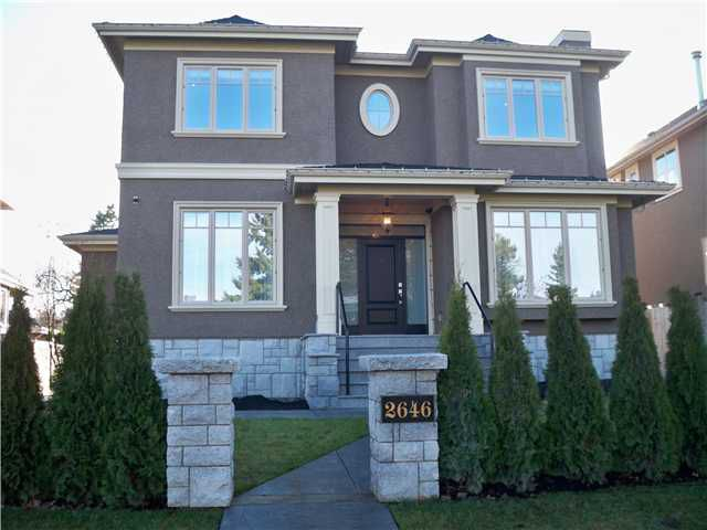 Main Photo: 2646 W KING EDWARD Avenue in Vancouver: Quilchena House for sale (Vancouver West)  : MLS®# V946400