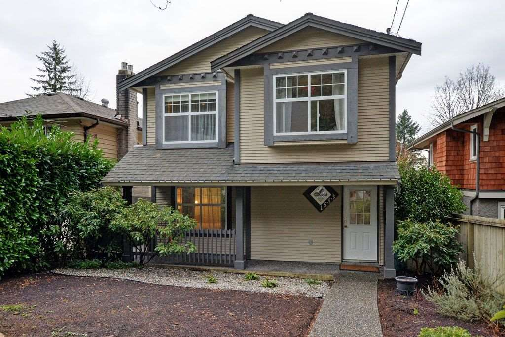 Main Photo: 1553 BURRILL AVENUE in North Vancouver: Lynn Valley House for sale : MLS®# R2037450