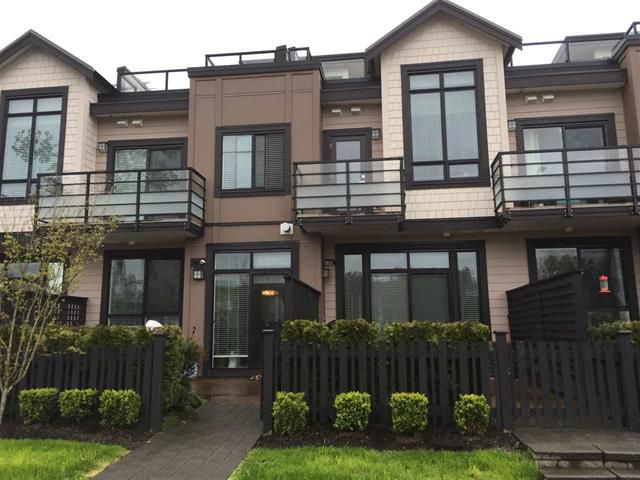 Main Photo: 4 100 Wood Street in : Queensborough Townhouse for sale (New Westminster)  : MLS®# r2157697