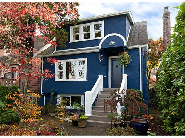 Main Photo: 4054 W 16TH Avenue in Vancouver: Dunbar House for sale (Vancouver West)  : MLS®# V988618