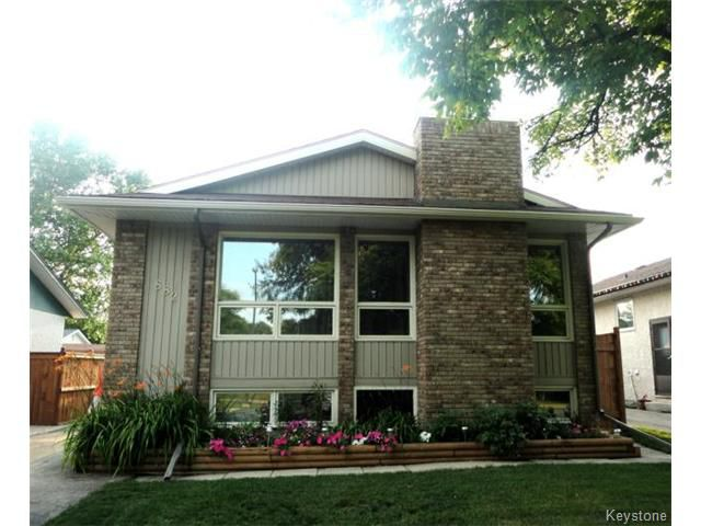 Main Photo: 882 Isbister Street in WINNIPEG: Westwood / Crestview Residential for sale (West Winnipeg)  : MLS®# 1420237