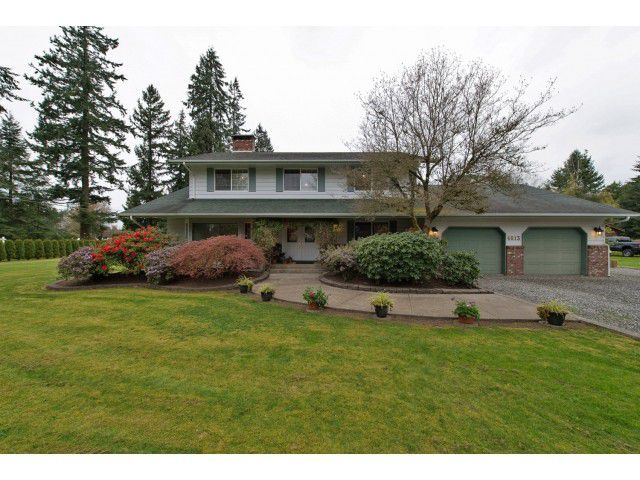 Main Photo: 4813 241 ST in Langley: Salmon River House for sale : MLS®# F1437603