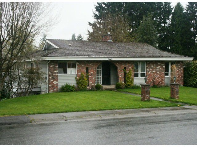 Main Photo: 2447 SUGARPINE Street in Abbotsford: Abbotsford West House for sale : MLS®# F1309294