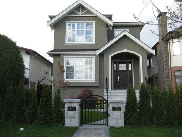 Main Photo: 55 W 45TH AV in Vancouver: Oakridge VW House for sale (Vancouver West)  : MLS®# V1081370