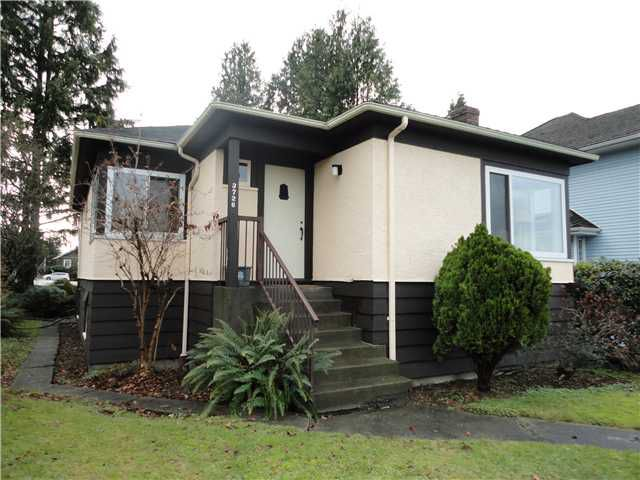 Main Photo: 3726 TRINITY ST in Burnaby: Vancouver Heights House for sale (Burnaby North)  : MLS®# V1096572